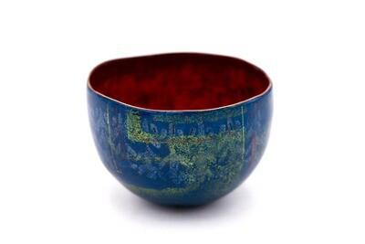 Sarah Perkins: Blue Caverns Bowl