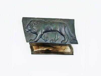 Linda K. Priest: Lion Brooch