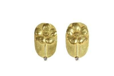 Linda K. Priest: Wild Flower Earrings