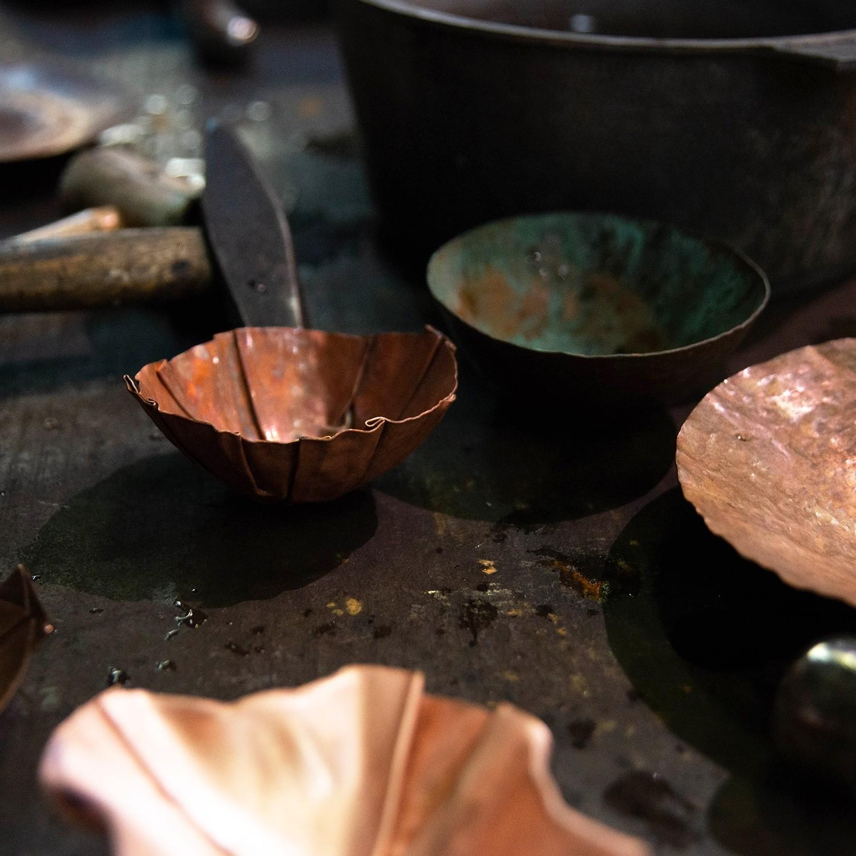 Copper Bowls: Raising & Fold Forming | JAN. 18-19, 9AM - 4PM