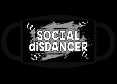 Social Disdancer face mask