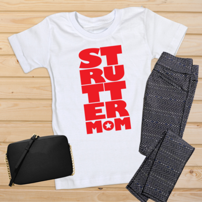 Strutter Mom Block Tee