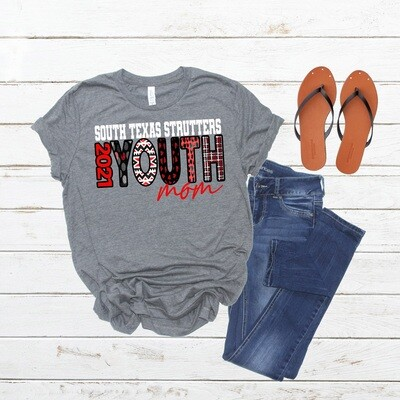 STS Strutter Mom Shirt-Youth