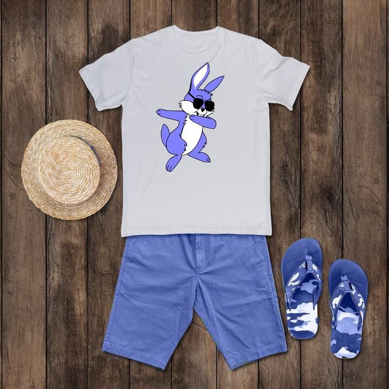 Dabbing Bunny Easter Shirt