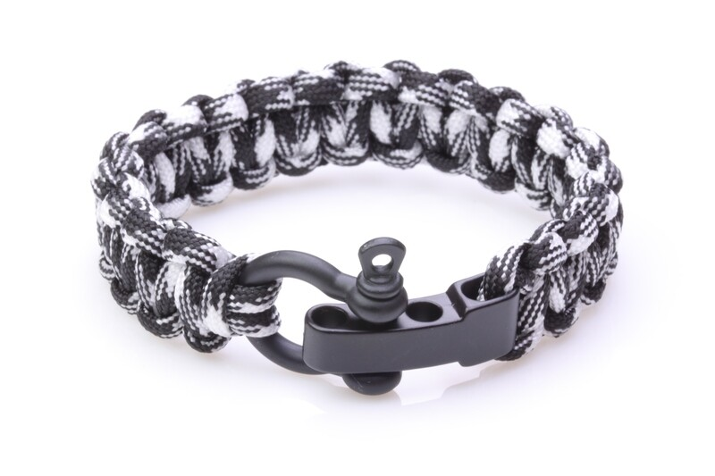 AM Paracord Black&white