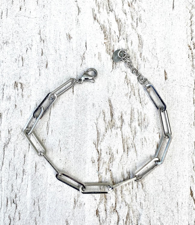 Armband met open schakel