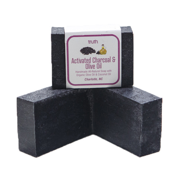 Activated Charcoal & Organic Olive Oil