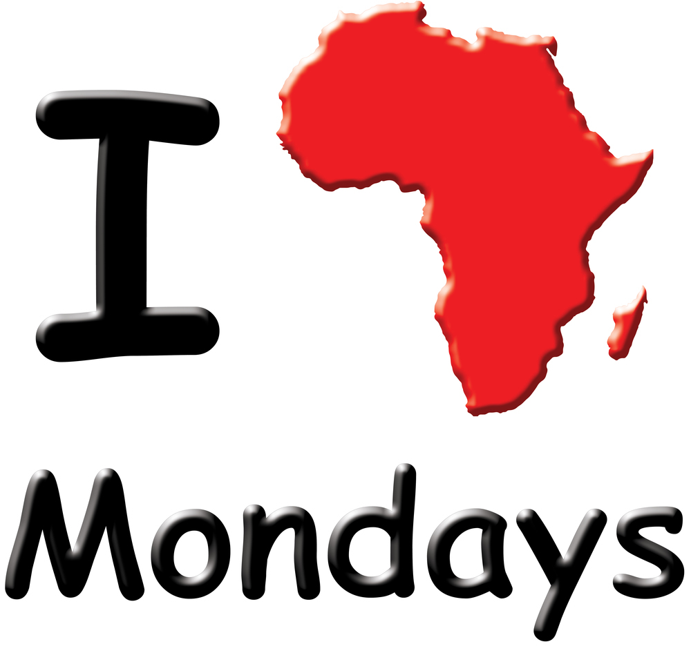 I [Africa] Mondays - Coffee Cup