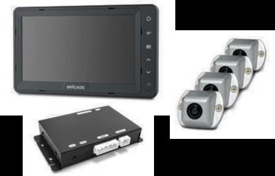 Brigade SE-770-100 - 360 Kamera Monitor System