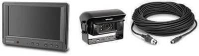 BE-870L-100 - Single-Klappenkamera-Monitor-System für Solofahrzeuge