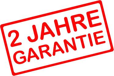 Garantieverlängerung auf 2 Jahre