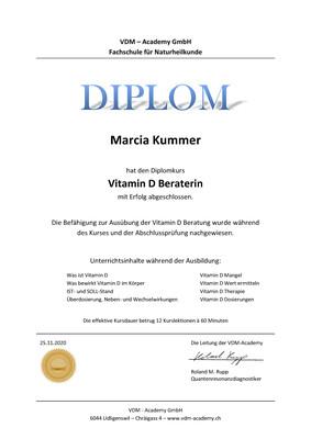 """Diplomkurs """"Vitamin D Profiler/in"""""""