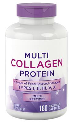 Multi-Kollagen-Protein (Typ I, II, III, V, X), 2000 mg