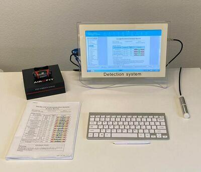 Quantum Resonance Analyzer inkl. TouchScreen Computer
