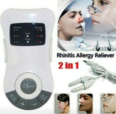 Rhinitis Allergy Reliever Zweikanal-Laser Device