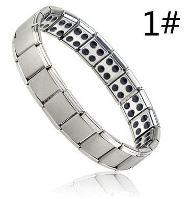 Germanium-Armband Silber für Männer