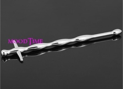 Stainless Steel Cross Male Urethral Probe | moodTime