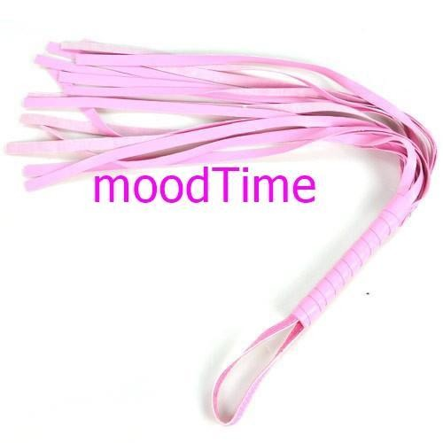 45cm Long Leather Whip Flirting Toy   moodTime