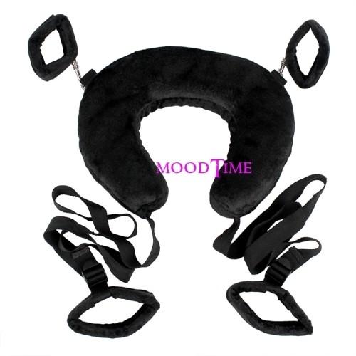 Sex Neck Pillow - Fetish Open Legs And Cuffs Bondage | moodTime