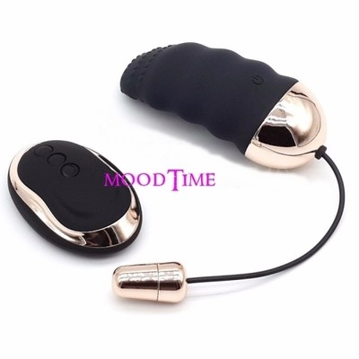 USB Charging 10 Frequency Remote Control Vibrating Sex Egg | moodTime