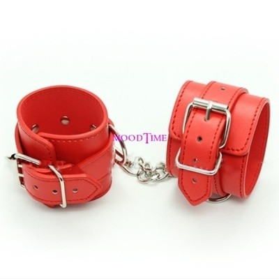 Quality Red SM Hand Cuffs Bracelet Sex Toy | moodTime