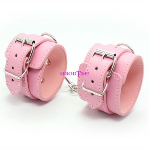 Quality Pink SM Hand Cuffs Bracelet Sex Toy | moodTime