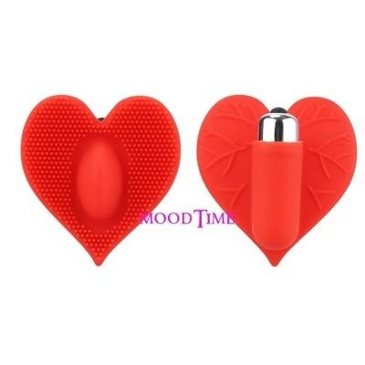 Heart Shape Panty Insert Clitoris Vibrator | moodTime