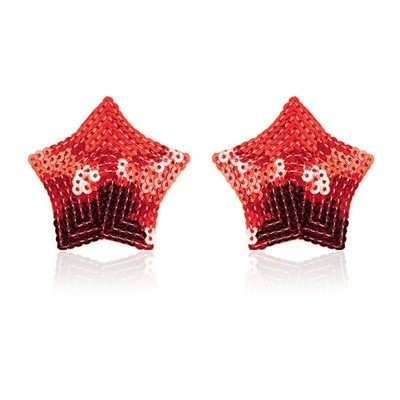Star Shape Round Dot Sequin Nipple Covers | moodTime