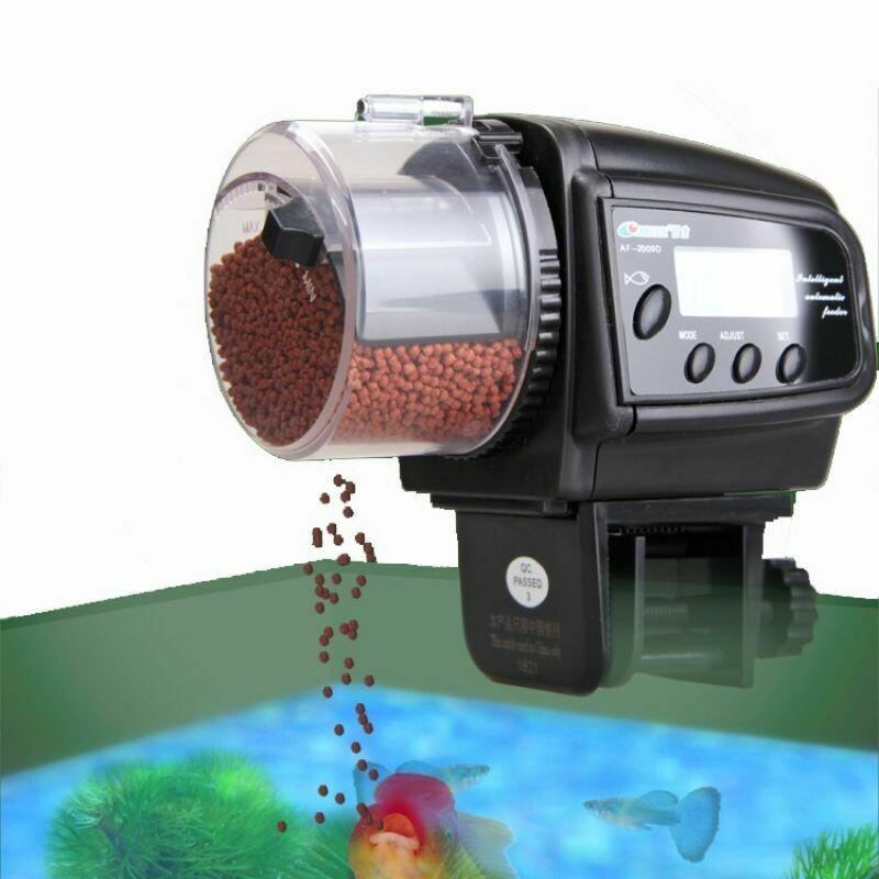 Digital LCD Automatic Aquarium Fish Feeder | moodTime