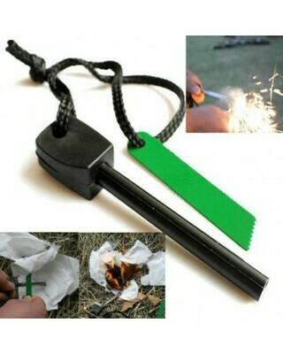 Magnesium Rod + Metal Blade Flint Kit (Fire Starter) | moodTime