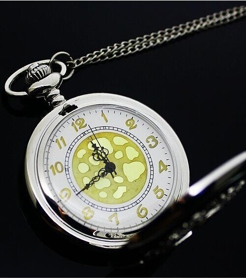 Elegant Steel Pocket Watch | moodTime