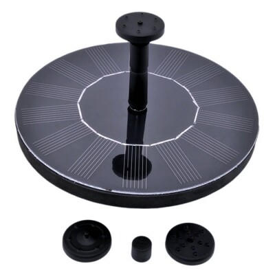 Solar Power Floating Water Pump Fountain | moodTime