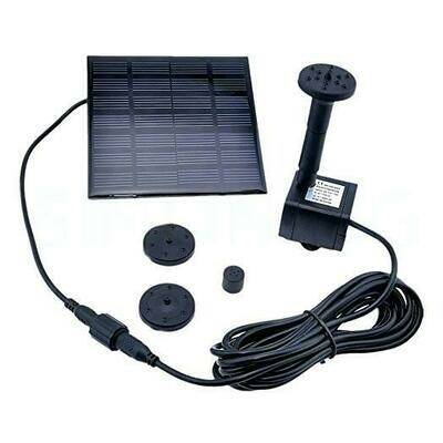 7v Solar Power Water Pump Garden Fountain | moodTime