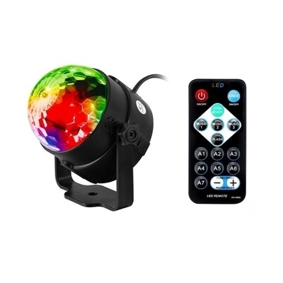 Sound Activated Mini LED Party Disco Club DJ Light Home Stage Light | moodTime