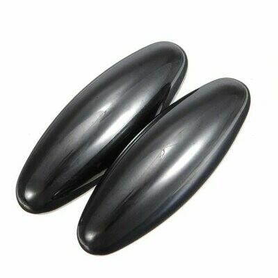 Rattlesnake Egg Hematite Magnets (Oval x 2) | moodTime