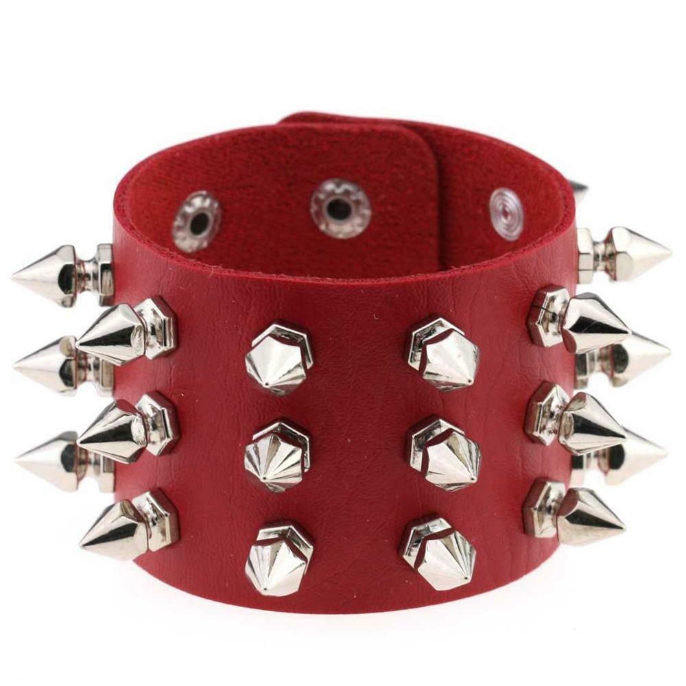 Unisex Gothic BDSM Spikes Punk Bracelet | moodTime