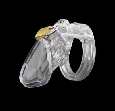 Short Penis Chastity Device With 5 Size Penis Ring | moodTime