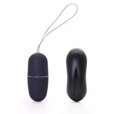 20 Speed Wireless Remote Control Vibrating Egg - Black | moodTime