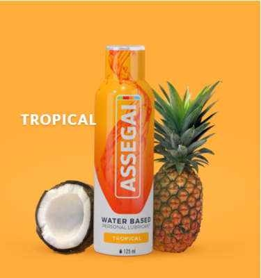 Quality Personal Lubricant - Tropical 125ml | moodTime
