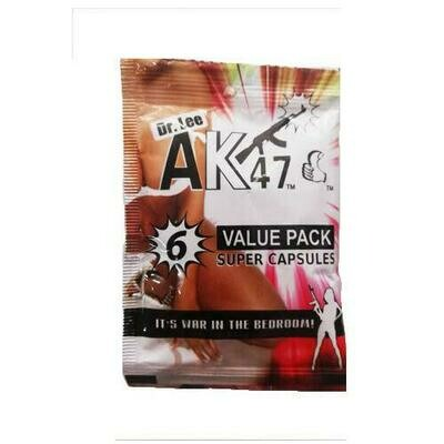 AK47 Powerful Man Capsules (6 tablets) | moodTime