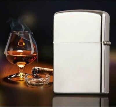 Quality Wind Proof Kerosene Lighter - Silver | moodTime