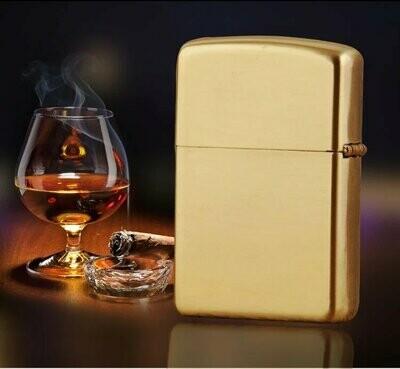 Quality Wind Proof Kerosene Lighter - Gold | moodTime