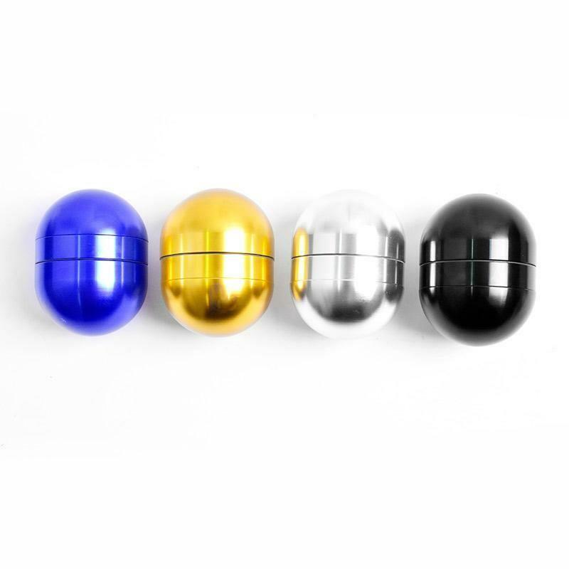 Dope Design Egg Shape Aluminium Weed Grinder  | moodTime