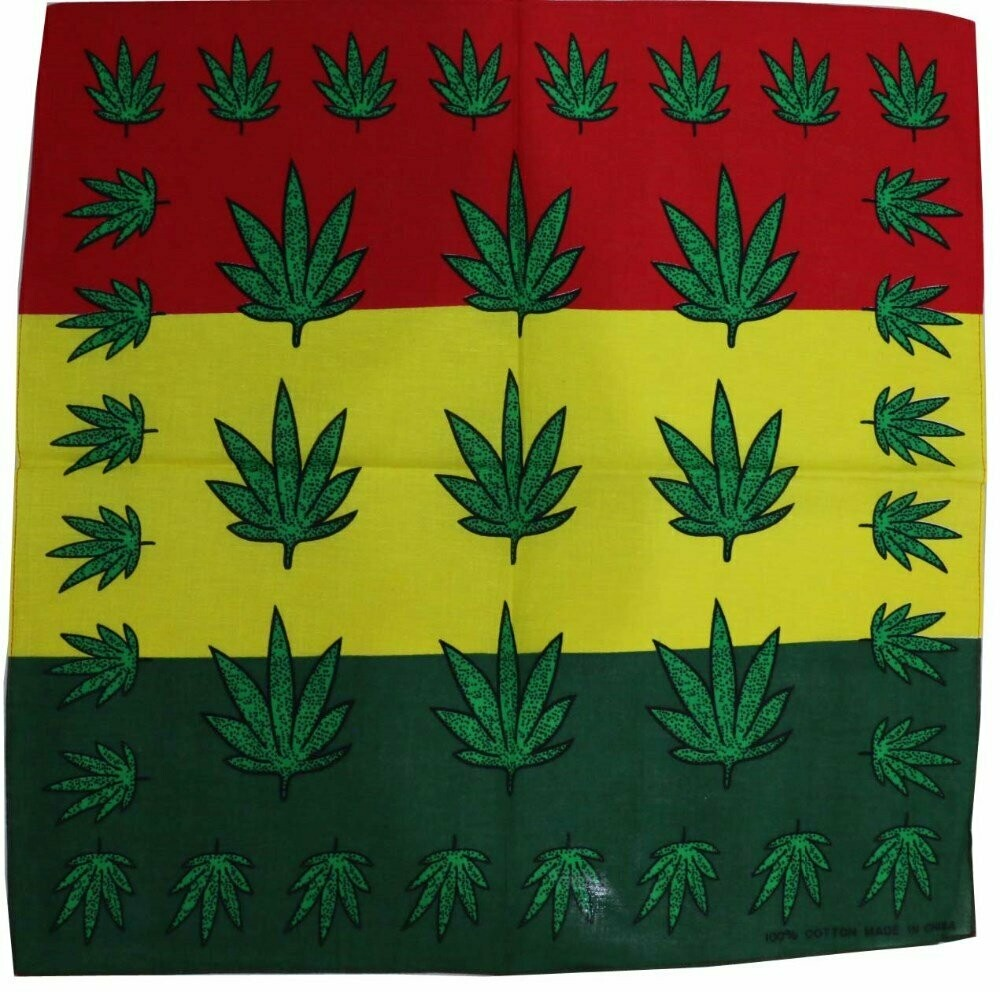 Bandana Marijuana Cannabis Leaf   moodTime