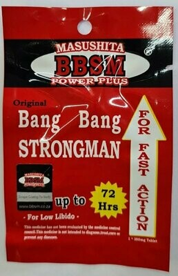 BBSM Bang Bang Strong Man (1 tablet) | moodTime