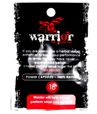 Warrior Capsules for Men (2 tablet) | moodTime