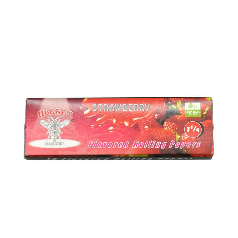 Strawberry Rolling Paper 1 1/4 | moodTime