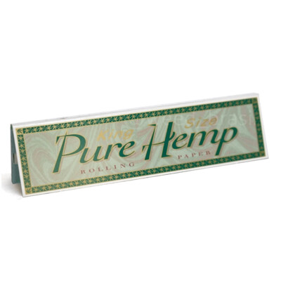 Pure Hemp Rolling Paper King Size | moodTime