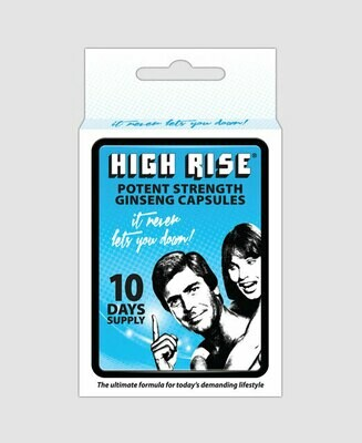 High Rise Capsules 10's | moodTime