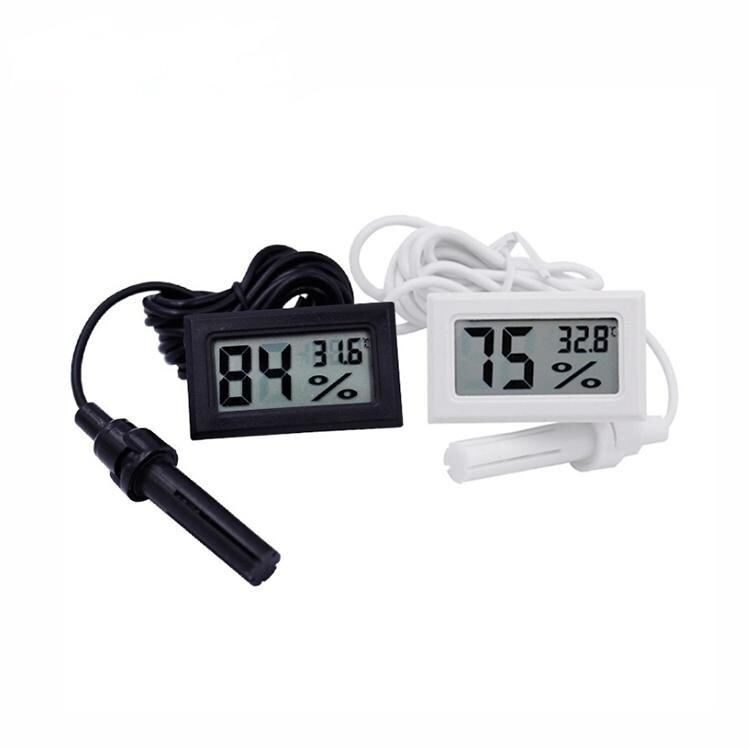 LCD Digital Thermometer Hygrometer Humidity Temperature Monitor | moodTime